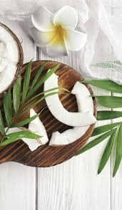 Uso del aceite de coco en cosmética