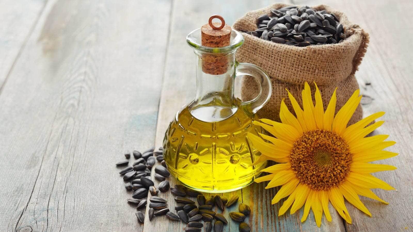 Aceite de girasol vegetal características